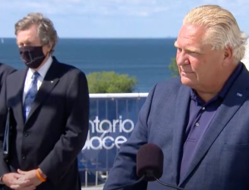 Ford government reveals masks will remain mandatory indoors even after Step 3 restrictions are lifted