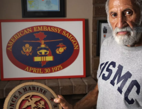Chaos in Kabul is worse than fall of Saigon, says last Marine off embassy roof in 1975