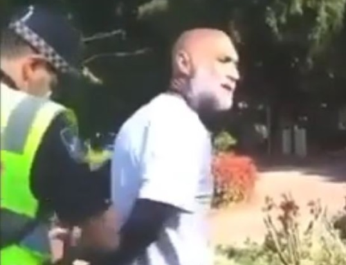Australian Man Suffers Suspected Heart Attack While Under Arrest For Not Wearing a Mask