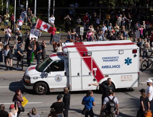 The U.S. anti-vax movement is contaminating Canada