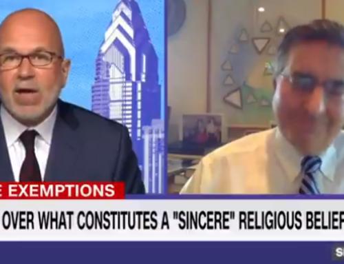 CNN Expert: Faith Can Kill, So Biden Admin Needs 'Guidelines' for Religious Vaccine Exemptions(VIDEO)