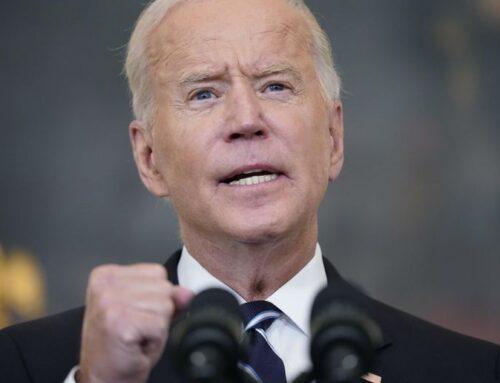 America minus God equals Joe Biden