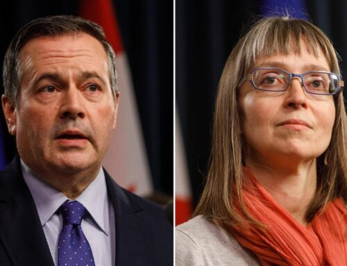 """Hinshaw apologizes, says Alberta's """"open for summer"""" plan was a mistake."""