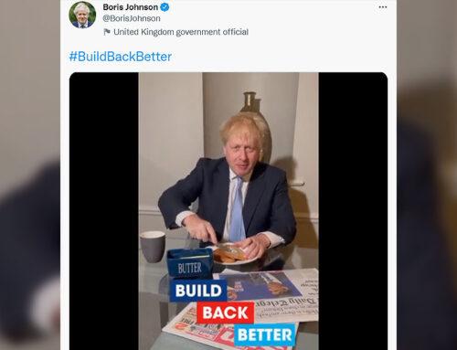 'Please stop': Boris Johnson's 'Build Back Butter' toast video makes Britons cringe