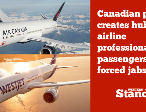 Canadian pilot creates hub for airline professionals and passengers against forced jabs