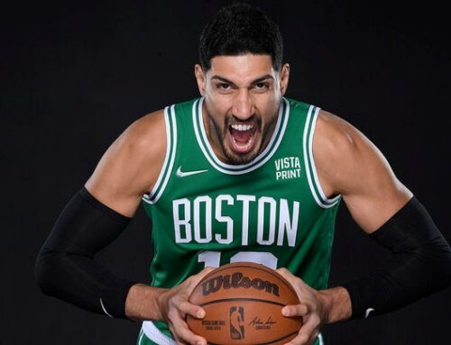 Celtics' Enes Kanter torches Nike for remaining 'silent' on China's slave labor