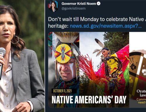 Noem Draws Bipartisan Ire For Demanding South Dakotans Celebrate 'Native American Heritage' Instead of Columbus Day